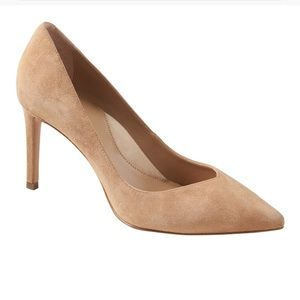 "Madison 12 hour pumps 3"" 76 mm. 100% leather."